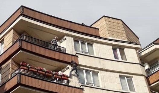 راپل کار – ارتفاع کار – طناب کار در تهران و کرج